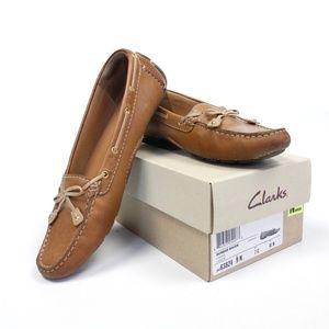 Leather Dunbar Racer Boat Shoe {Clarks}